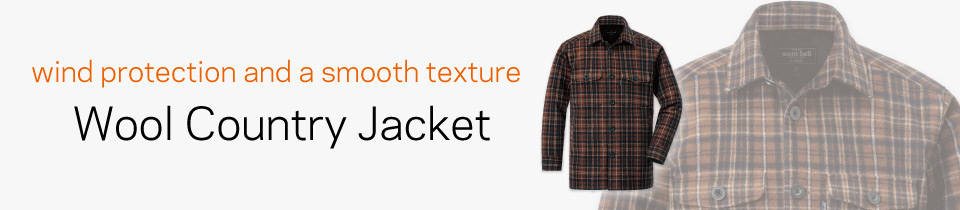 Wool Country Jacket Men's